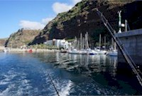 The Marina of Calheta